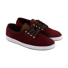 Emerica The Romero Laced Mens Red Suede Lace Up Lace Up Sneakers Shoes