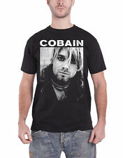 Kurt Cobain T Shirt Kurt B/W Photo Nirvana new Official Mens Black