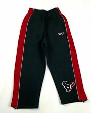 Little Boy's 4-7 Houston Texans Pants NFL Big Fan Fleece Football Sweatpants
