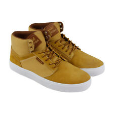 Supra Yorek Hi Mens Tan Suede Lace Up Lace Up Sneakers Shoes