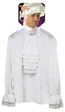 MENS HISTORICAL CHARACTER SHIRT WITH LACE JABOT