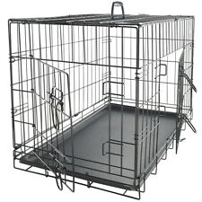 Dog Crate Pet Kennel Cage Animal Folding Wire Metal Playpen