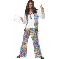 Mens 1960's / 1970's Fancy Dress Costume Groovy Hippy Outfit