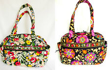 Vera Bradley Baby Bag Diaper Tote Poppy Fields or Suzani NWT