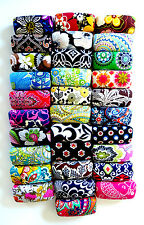 Vera Bradley Hard Sunglass Eyeglass Clamshell Case Choice of 34 Patterns NWOT