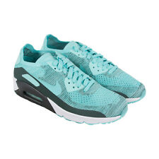 Nike Air Max 90 Ultra 2.0 Flyknit Mens Blue Textile Athletic Running Shoes