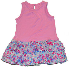 Baby Gap NWT Pink Floral Ruffle Skirt Dress Romper 6-12 Months $30