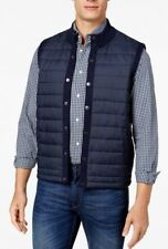 Barbour Men's New Navy Blue Essential Quilted Gilet Vest