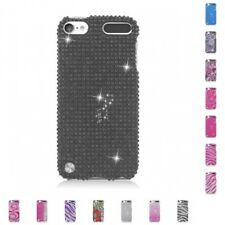 For Apple iPod Touch 5th Gen Case Diamond Bling Luxury Fashion Cute Hard Cover
