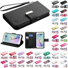 For Samsung Galaxy S6 Wallet MyJacket Executive Pouch Case Slots Pockets