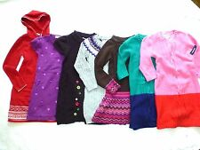 GYMBOREE Girls NORDIC COLOR-BLOCK SEQUIN CABLE KNIT TUNIC SWEATER DRESS 6 7 8