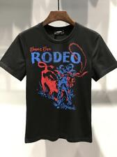 New Arrival Men's Summer T-shirts Bullfighting Printing Crew Neck Letters M-XL