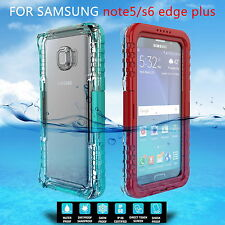 New Waterproof Shock/Snow proof Case Cover For Samsung Galaxy S6 edge plus /S7