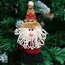 Santa Claus Snowman Deer Doll Pendant Christmas Tree Decoration Hanging Ornament