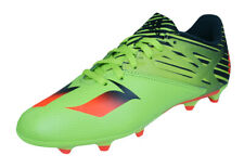 Boys adidas Soccer Cleats Messi 15.3 FG / AG Firm Astro Ground Green See Sizes