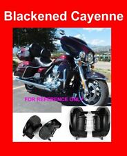 Blackened Cayenne Lower Vented Fairing Fit Harley Street Electra Glide 83-17