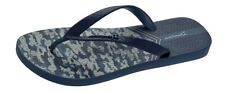 Mens Ipanema Flip Flops Parati II Camouflage Beach Sandals -Navy -World Shipping