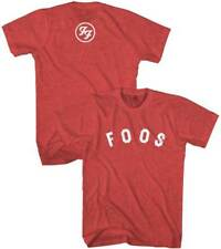 FOO FIGHTERS - Foos Logo - T SHIRT S-2XL New Official Live Nation Merchandise
