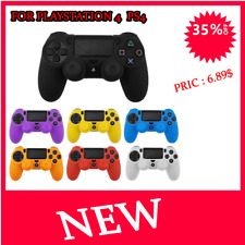 Soft Silicone Gel Rubber Skin Cover Case For SONY Playstation 4 PS4 Controller