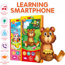 Baby Phone Toys Music Toddler Phone Early Educational Learning Toy Gift for Kids