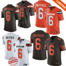 Baker Mayfield #6 Cleveland Browns Men's Jersey Authentic stitched 4 Color S-3XL