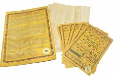 teaching ancient hieroglyphic &Egyptian Papyrus blank paper 25 Sheets (15x20 cm)