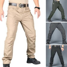 Mens Straight Water-Resistant Hiking Outdoor Quick Dry Cargo Trekking Pants GIFT