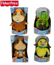 Fisher Price Wonder pets Plush Toy Tuck Linny stuffed Animal save the day Hero