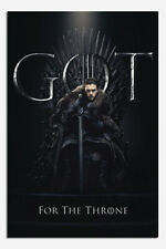 Laminated Game Of Thrones Jon For The Throne Poster