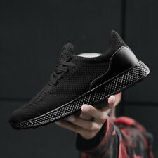 Mens Size 39-48 Running Shoes Breathable Sports Casual Walking Athletic Sneakers