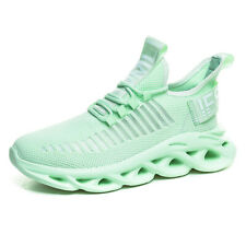 Mens Casual Shoes Leisure Sports Sneakers Running Jogging Mesh Youth Student Ins