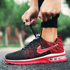 Men's Flyknit Sneakers Running Casual Shoes Leisure Sports Jogging Athletic Mesh