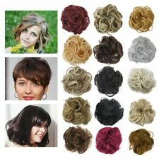 New Messy Rose Bun Easy-To-Wear Stylish Hair Scrunchies 44 Colors