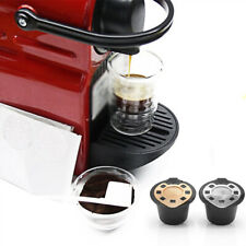 1xRefillable Reusable For NESPRESSO Coffee Capsules Pods Stainless Steel Replace