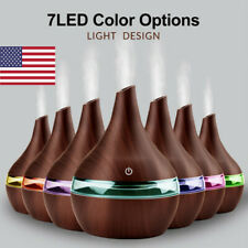 300ML LED Ultrasonic Aromatherapy Essential Oil Diffuser Air Humidifier Mist HL