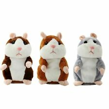 Cheeky Hamster Repeat What You Say Electronic Pet Talking Plush Toy Cute Gift