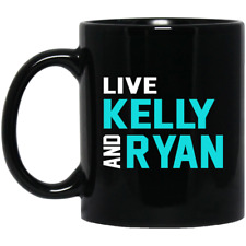 Live Kelly and Ryan mug coffee black 11oz 15oz gift mothers day fathers show