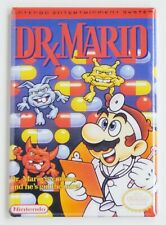 Dr. Mario FRIDGE MAGNET video game box doctor nes