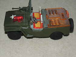 vintage battery operated jeep