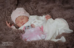 baby girl doll mouse asleep and