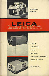 leica leicina product catalog no 36 1962
