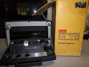 kodak instamatic m 70 movie projector for