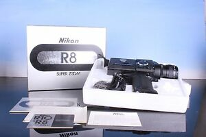 great nikon r8 super 8mm movie camera from