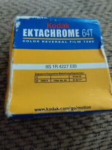 kodak ektachrome super 8mm film 64t 7280