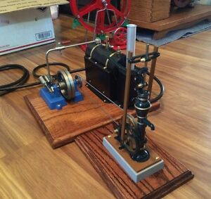 beautiful live steam engine driven
