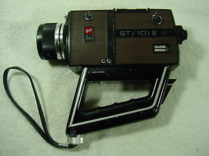 gaf st 101e super 8 movie camera 8mm