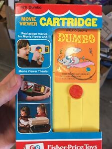 fisher price movie viewer cartridge dumbo