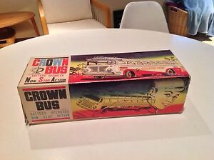 crown bus battery operated toy
