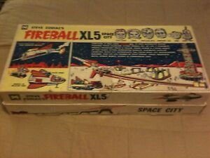 fireball xl5 space city complete
