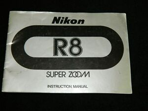 nikon r8 super zoom movie camera original